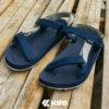 Kito KE702 รองเท้าแตะ สีกรม รองเท้าผู้ชาย รองเท้าผู้หญิง รองเท้ารัดส้น รองเท้าแตะรัดส้น