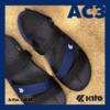 Kito รองเท้าแตะ AC3 สีกรม รองเท้าแตะรัดส้น รองเท้ารัดส้น รองเท้า