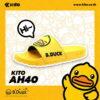 Kito B.Duck รองเท้าแตะ AH40 สีเหลือง รองเท้า รองเท้าผู้หญิง รองเท้าแตะผู้หญิง Sandals