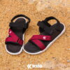 Kito AI5 รองเท้าแตะ สีแดง-1 รองเท้าผู้ชาย รองเท้าผู้หญิง รองเท้ารัดส้น รองเท้าแตะรัดส้น