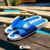Kito AK25 รองเท้าแตะ รองเท้าผู้ชาย รองเท้า รองเท้าแตะแฟชั่น สีน้ำเงิน