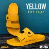 Kito รองเท้าแตะ AH61 สีเหลือง AA รองเท้า รองเท้าผู้หญิง รองเท้าผู้ชาย