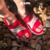 Kito รองเท้าแตะ AB15 Red รองเท้าผู้หญิง รองเท้าผู้ชาย รองเท้า