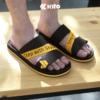 Kito รองเท้าแตะ AB15 Black รองเท้าผู้หญิง รองเท้าผู้ชาย รองเท้า