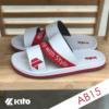 Kito รองเท้าแตะ AB15 สีขาว รองเท้าผู้หญิง รองเท้าผู้ชาย รองเท้า Sandals