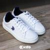 Kito BE7 รองเท้าผ้าใบ สีกรม รองเท้าผ้าใบแฟชั่น รองเท้าผู้ชาย รองเท้าผู้หญิง รองเท้าผ้าใบผู้หญิง