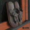 Kito รองเท้าแตะ AA54 สีโกโก้ รองเท้าผู้ชาย รองเท้าผู้หญิง รองเท้า รองเท้าแตะหนีบ