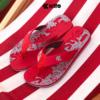 Kito รองเท้าแตะ AA97 สีแดง รองเท้าผู้ชาย รองเท้าผู้หญิง รองเท้า