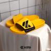 Kito รองเท้าแตะ AH68 สีเหลือง รองเท้า รองเท้าผู้ชาย รองเท้าผู้หญิง