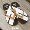 Kito AP19 รองเท้าแตะ รองเท้าผู้ชาย รองเท้า รองเท้าแตะแฟชั่น สีโกโก้ รองเท้าแตะผู้หญิง