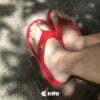 Kito YNWA AA119 รองเท้าแตะ สีแดง รองเท้าผู้หญิง รองเท้าผู้ชาย รองเท้าแตะแฟชั่น รองเท้า