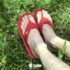 Kito YNWA AA119 รองเท้าแตะ สีแดง รองเท้าผู้หญิง รองเท้าผู้ชาย รองเท้า รองเท้าแตะแฟชั่น