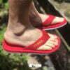 Kito YNWA AA119 รองเท้าผู้หญิง รองเท้าแตะ สีแดง รองเท้าผู้ชาย รองเท้า รองเท้าแตะแฟชั่น