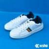 Kito BE12 รองเท้าผ้าใบ สีกรม รองเท้าผ้าใบแฟชั่น รองเท้าผู้หญิง รองเท้าผ้าใบผู้หญิง รองเท้า