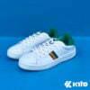 Kito BE12 รองเท้าผ้าใบ สีเขียว รองเท้าผ้าใบแฟชั่น รองเท้าผู้หญิง รองเท้าผ้าใบผู้หญิง รองเท้า