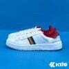 Kito BE12 รองเท้าผ้าใบ สีแดง รองเท้าผ้าใบแฟชั่น รองเท้าผู้หญิง รองเท้าผ้าใบผู้หญิง รองเท้า