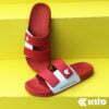 Kito Move TwoTone รองเท้าแตะ AH81 สีแดง รองเท้า รองเท้าผู้ชาย รองเท้าผู้หญิง