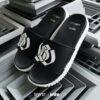 Kito Black&White ISSUE x KitoLAB AH87 รองเท้าผู้หญิง รองเท้า สีดำ รองเท้าผู้ชาย รองเท้าแฟชั่น