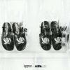 Kito Black&White ISSUE x KitoLAB AH87 รองเท้า สีดำ รองเท้าผู้ชาย รองเท้าแฟชั่น รองเท้าผู้หญิง