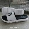 Kito Black&White ISSUE x KitoLAB AH87 รองเท้า สีขาว รองเท้าผู้ชาย รองเท้าแฟชั่น รองเท้าผู้หญิง