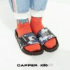 Kito Kito Dance DAPPERxKitoLAB AH76 สีดำ รองเท้า รองเท้าผู้ชาย รองเท้าแฟชั่น รองเท้าผู้หญิง